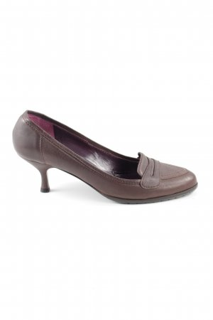 Escada High Heels braun Business-Look