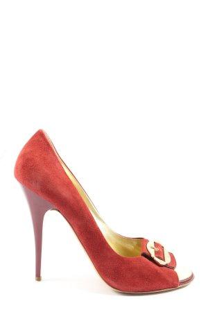 Escada High Heels rot Elegant