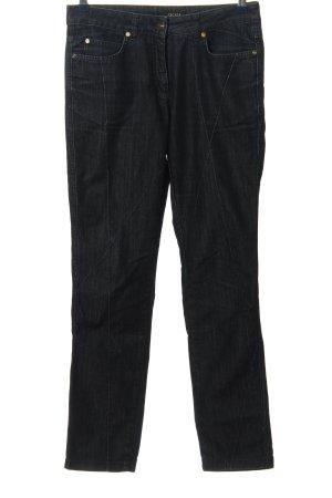 Escada High Waist Jeans schwarz Casual-Look