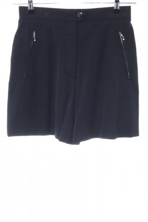 Escada High-Waist-Shorts schwarz Casual-Look