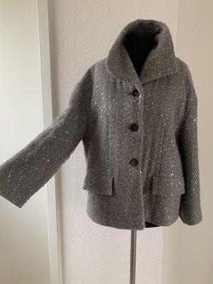 Escada Blazer in tweed argento
