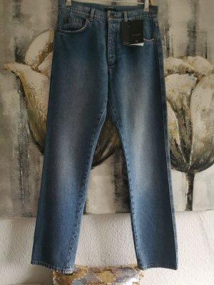 Escada Straight Leg Jeans blue