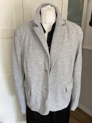 Escada Blazer in jersey grigio chiaro-grigio