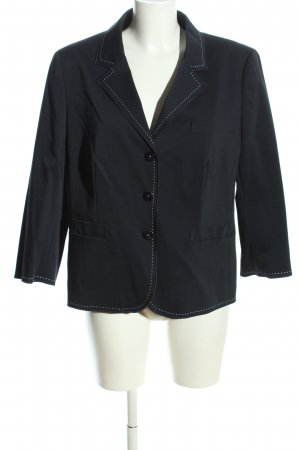 Escada Jerseyblazer schwarz Business-Look