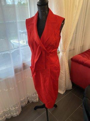 Escada Maxi Dress red