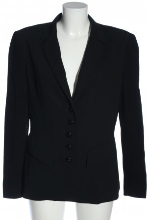 Escada Blazer court noir style d'affaires