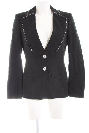 Escada Korte blazer zwart zakelijke stijl