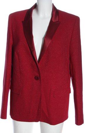 Escada Korte blazer rood gestippeld casual uitstraling
