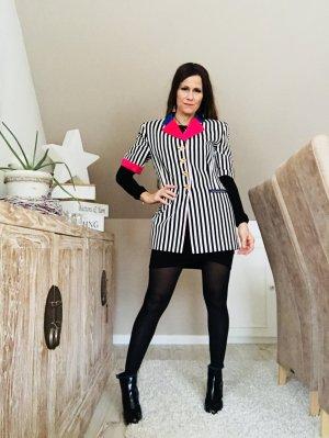 ESCADA Kurzarmblazer Gr.36 Vintage COLOR BLOCKING Blogger Stil 2018