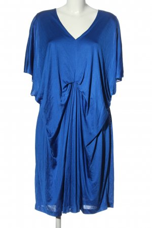 Escada Sukienka z krótkim rękawem niebieski W stylu casual