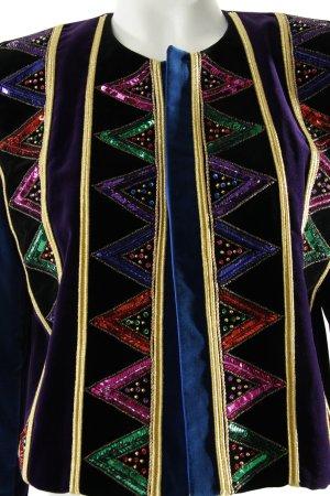 Escada Veste courte multicolore style extravagant