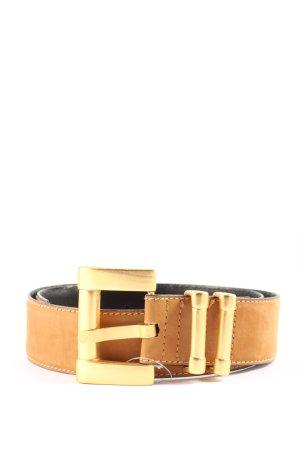 Escada Cintura di pelle arancione chiaro stile professionale