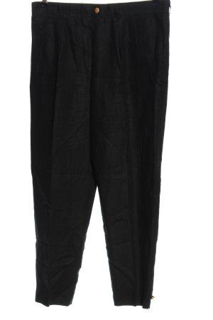 Escada Pantalone di lino nero stile casual