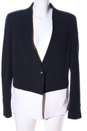 Escada Long-Blazer schwarz-weiß Farbverlauf Business-Look