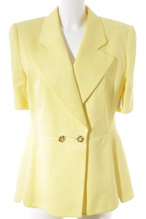 Escada Margaretha Ley Jerseyblazer neongelb Party-Look