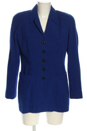 Escada Margaretha Ley Kurz-Blazer blau Business-Look