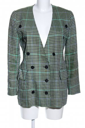 Escada Margaretha Ley Long-Blazer Karomuster Business-Look