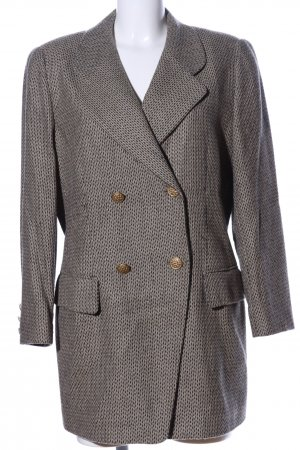 Escada Margaretha Ley Long-Blazer braun-schwarz Webmuster Business-Look