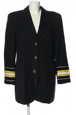 Escada Margaretha Ley Long-Blazer Streifenmuster Business-Look