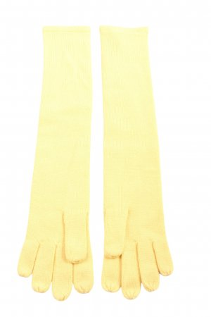 Escada Margaretha Ley Knitted Gloves primrose casual look