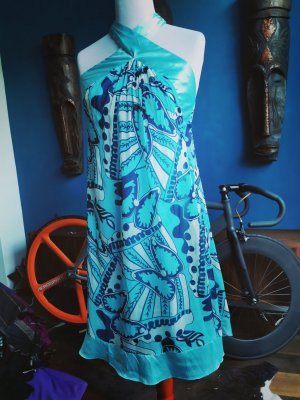Escada Pucci Style cocktail Prom Sommer party Kleid M NEU