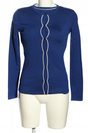 Escada Pullover Twin Set blau Casual-Look