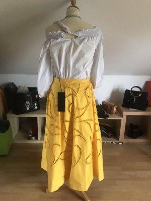 Escada Maxi Skirt yellow