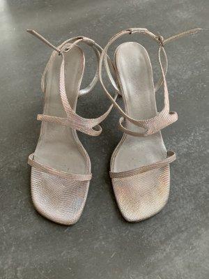 Escada Sandalias de tiras rosa-gris claro