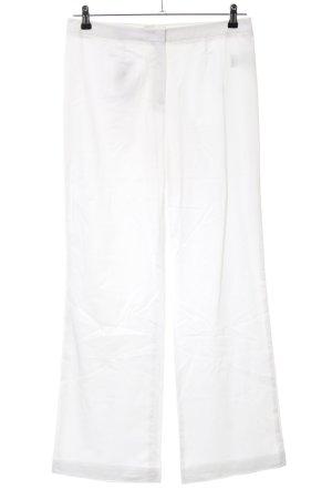 Escada Broek met wijd uitlopende pijpen wit casual uitstraling