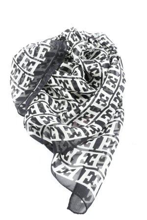 Escada Silk Cloth black-white allover print casual look