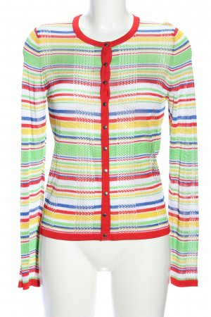 Escada Shirtjacke Streifenmuster Casual-Look