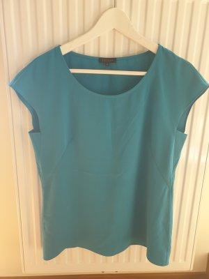 Escada Camisa de mujer azul cadete