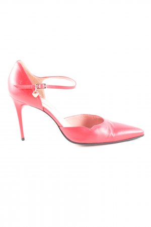 Escada Spangen-Pumps rot Casual-Look