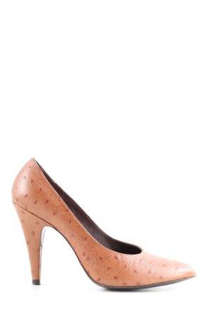 Escada Stiletto brun imprimé allover style décontracté