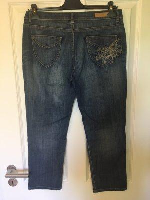 Escada Sport 7/8-jeans donkerblauw Katoen