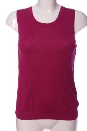 Escada Sport ärmellose Bluse pink Casual-Look