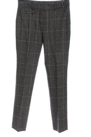 Escada Sport Suit Trouser light grey-black check pattern business style