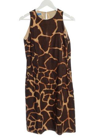Escada Sport Pencil Dress brown allover print casual look