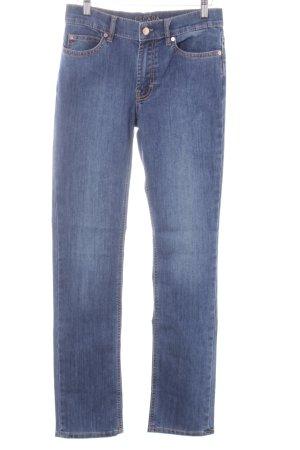 Escada Sport Boot Cut Jeans stahlblau Jeans-Optik