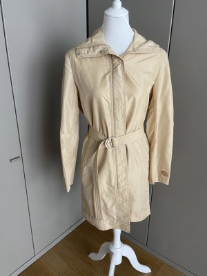 Escada Sport Heavy Raincoat cream-oatmeal