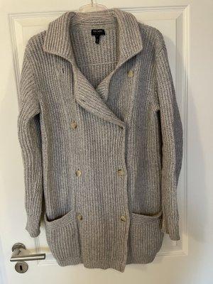 Escada Sport Veste en tricot gris clair-argenté laine