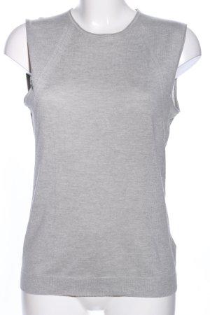 Escada Sport Cardigan en maille fine gris clair moucheté style décontracté