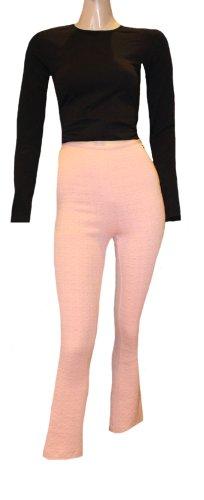 Escada Sport 7/8 Length Trousers pink cotton