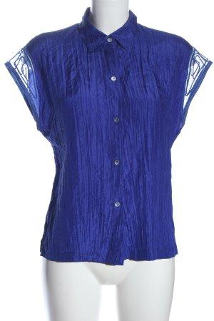 Escada Sport Hemd-Bluse blau Business-Look
