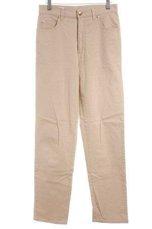 Escada Sport Hoge taille jeans beige retro uitstraling