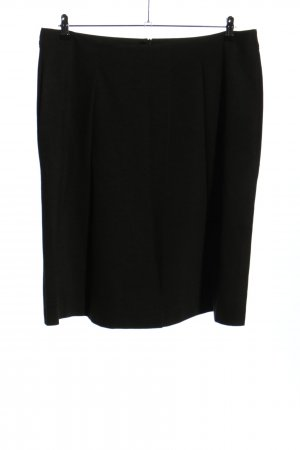 Escada Sport High Waist Rock schwarz Business-Look