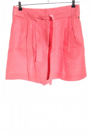 Escada Sport High-Waist-Shorts pink casual look