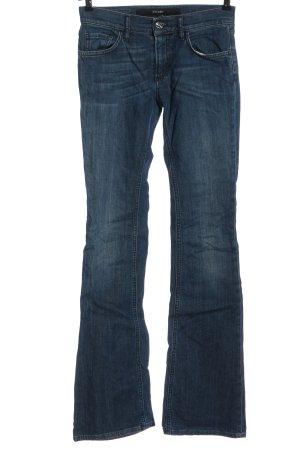 Escada Sport Jeansschlaghose blau Casual-Look