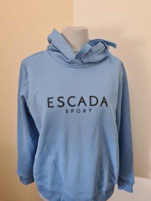 Escada Sport Kaputzensweater Hellblau Gr. XL = 44