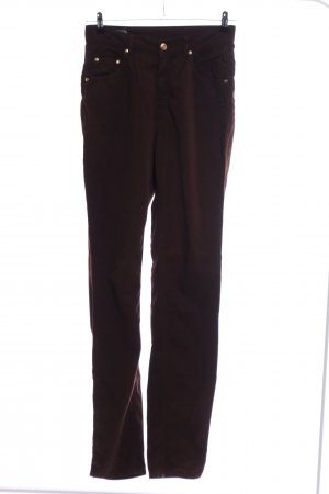 Escada Sport Carrot Jeans brown mixture fibre